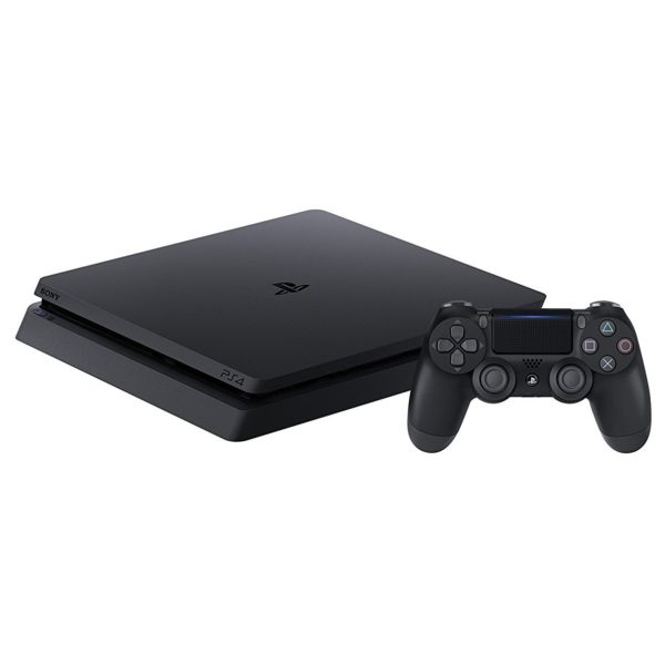 Sony PS4 Slim Gaming Console 500GB Black With Red Dead Redemption II Game Bundle