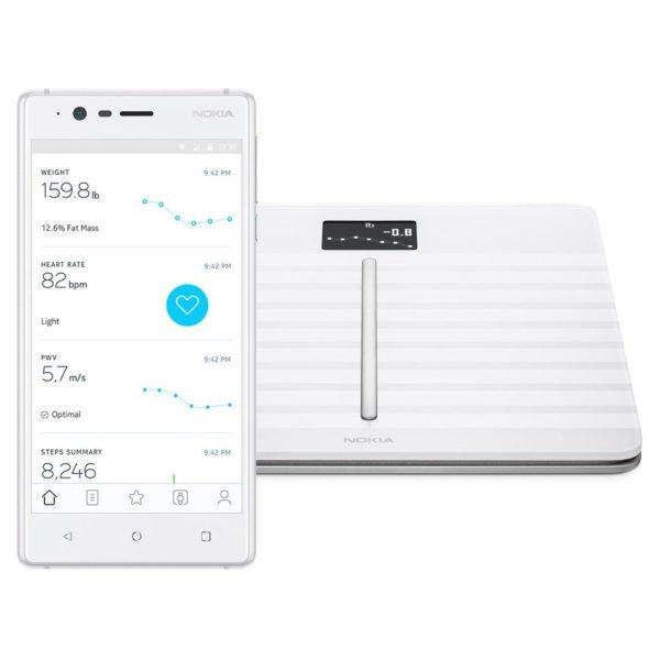 Nokia WBS04 Body Cardio Smart Scale White