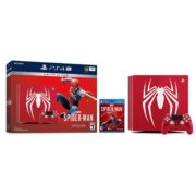 Sony PS4 Pro Gaming Console 1TB Red Limited Edition With Spiderman Game Bundle