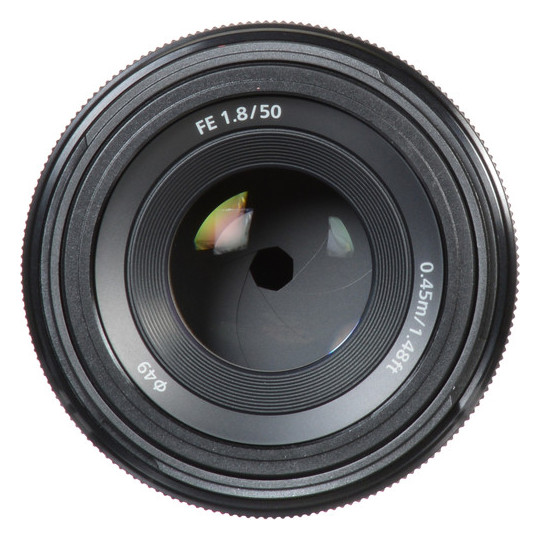 Sony FE 50mm F1.8 Lens SEL50F18F