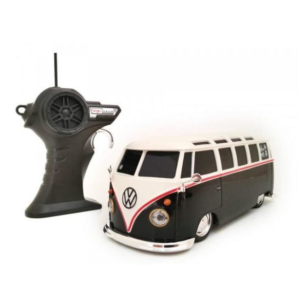 Maisto Tech 81144BLK RC VW Samba Van Black 1:24 - Color May Vary