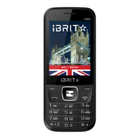 Ibrit COBRA (New) Dual Sim Feature Phone, Grey