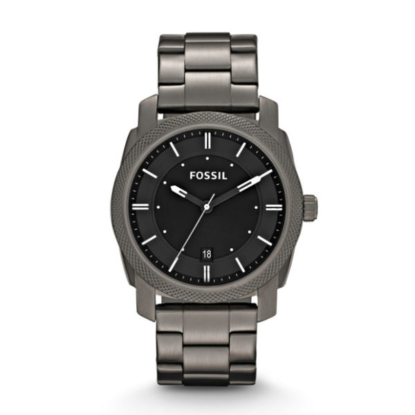 Fossil FS4774 Machine Smoke Stainless Steel Watch