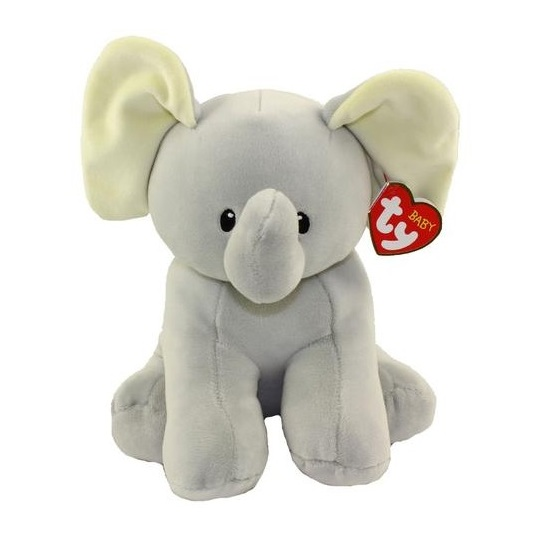 TY Baby Bubbles Elephant Grey 32131
