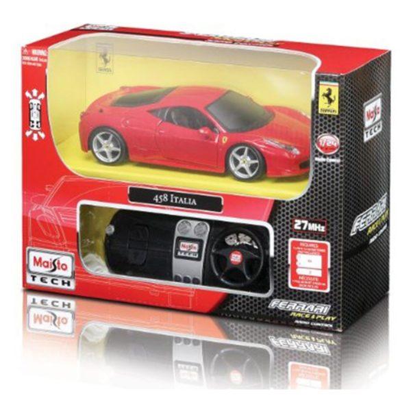 Maisto Tech 81058 RC Ferari 458 Italia Red 1:24
