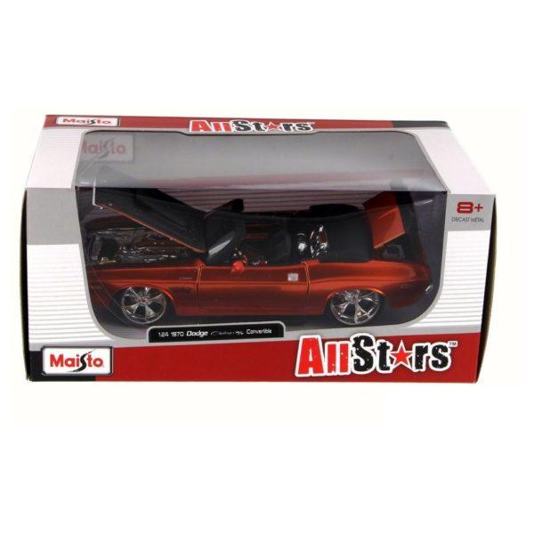 Maisto 31026 Diecast 1970 Dodge Challenger R/T Convertible
