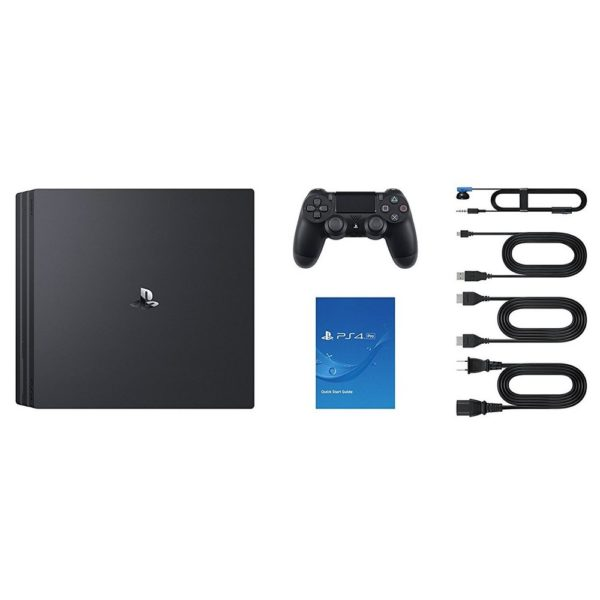 Sony PS4 Pro Gaming Console 1TB Black + Extra Controller + FIFA 19 EN/AR Game