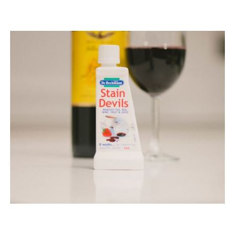 Dr. Beckmann Stain Devils Tea, Red Wine, Fruit & Juice Remover