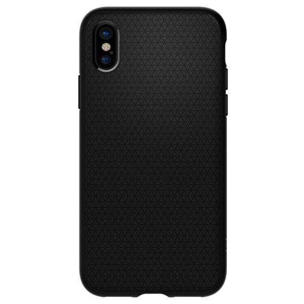 Spigen Liquid Air Matte Black Case For iPhone Xs