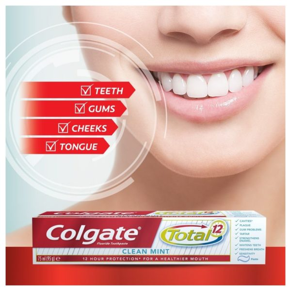 Colgate Total Clean Mint Toothpaste 75ml