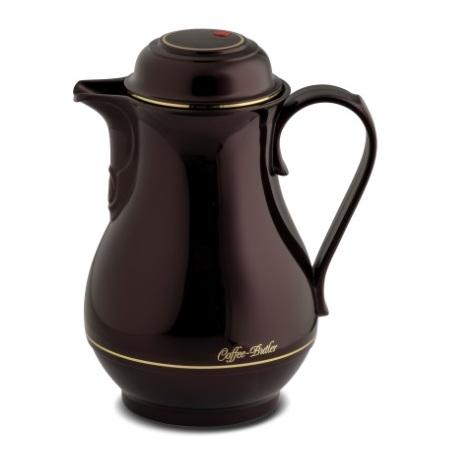 Rotpunkt Vacuum Flask 1L - Black Cherry