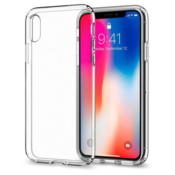 Spigen Liquid Crystal Clear Case For iPhone Xs