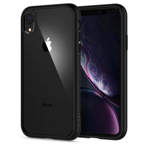 on sale c30b6 839e2 Spigen Ultra Hybrid Case Matte Black iPhone Xs Max