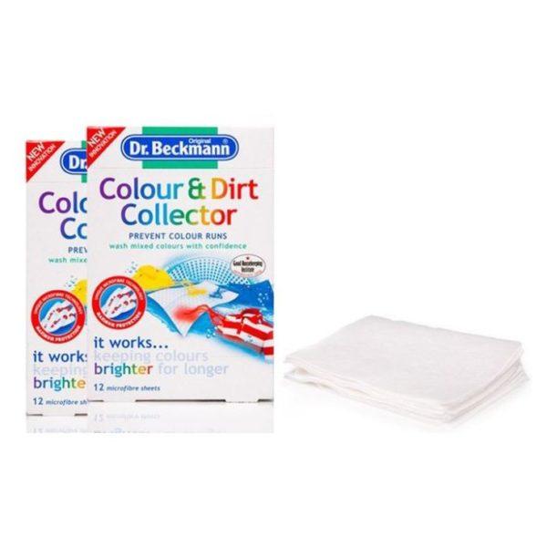 Dr. Beckmann Color & Dirt Collector 12 Sheet