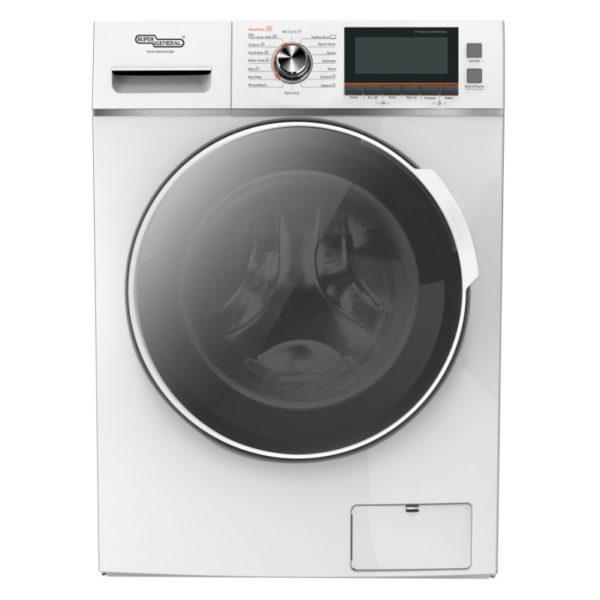 Super General 12 kg Washer & 10 kg Dryer SGW12600CRMB
