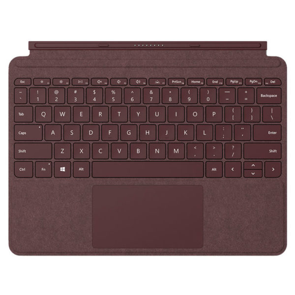 Microsoft Surface Go Signature Type Cover Burgundy