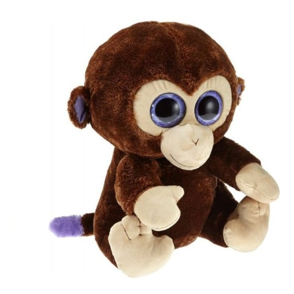 TY Beanie Boos Monkey Brown 36800
