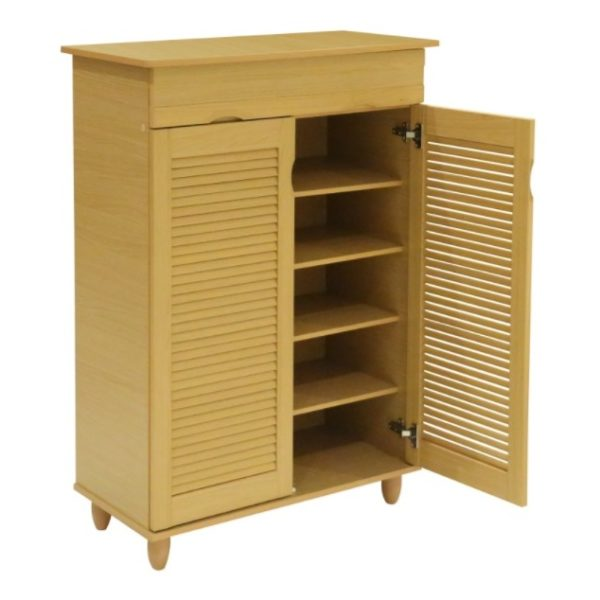 Home Style SH49713 Nikki 2 Door Shoe Cabinet