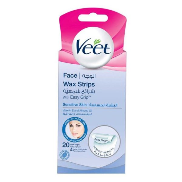 Veet Mini Coldwax Strips Face 20Pcs