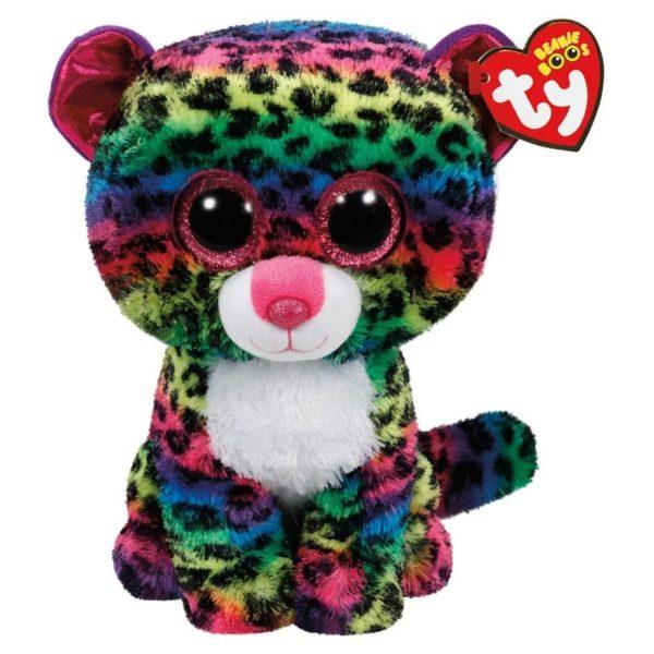 TY Beanie Boos Leopard Dotty Multi Color 36837
