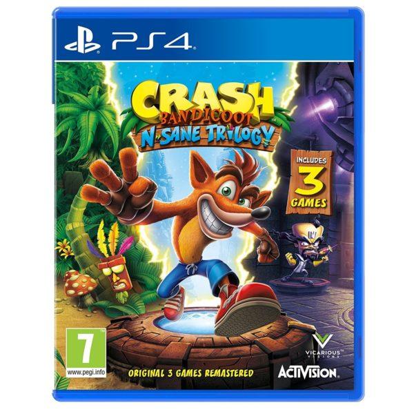 PS4 Crash Bandicoot N Sane Trilogy Game