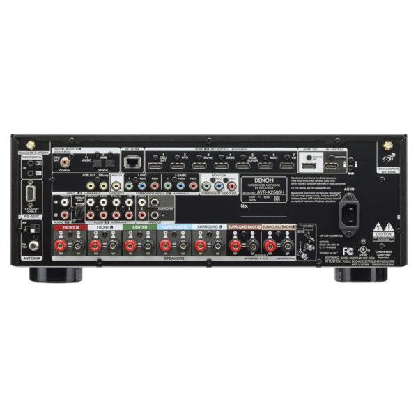Denon AVRX2500H AV Receiver