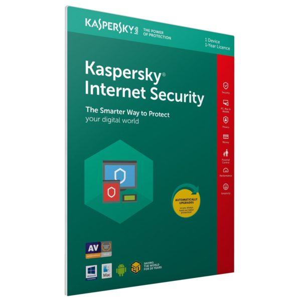 Kaspersky Internet Security 2019 1+1 Usr