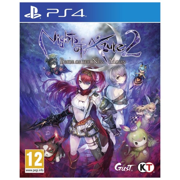 PS4 Nights Of Azure 2 Bride Of The New Moon Game