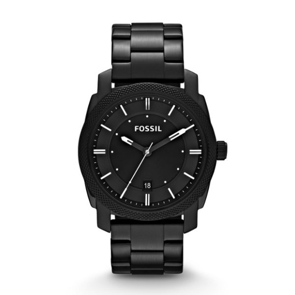 Fossil FS4775 Machine Black Stainless Steel Watch
