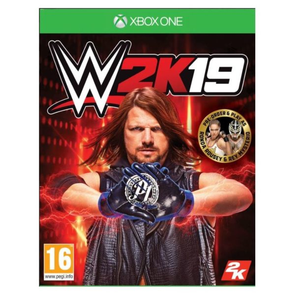 Xbox One WWE 2K19 Game
