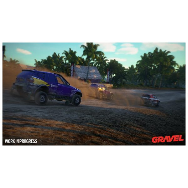PS4 Gravel Game