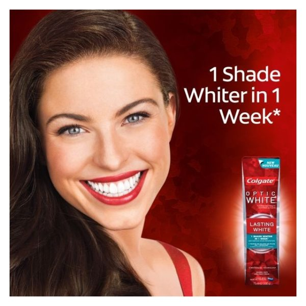 Colgate Optic White Lasting Toothpaste 75ml