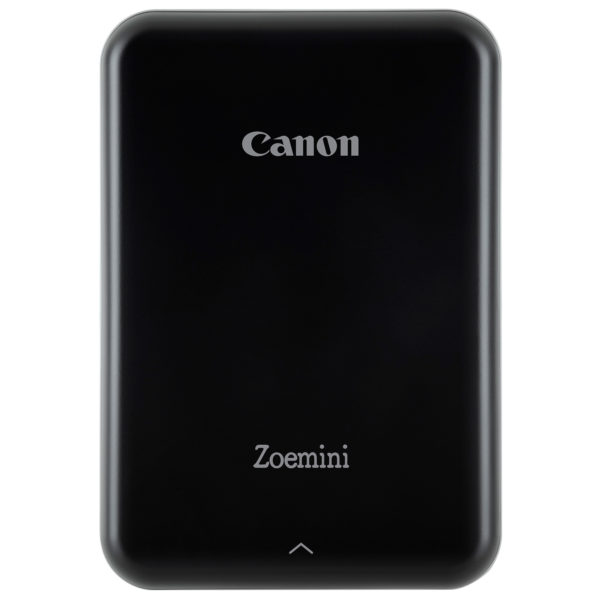 Canon PV-123 Zoemini Photo Printer Black+ZP-2030 Zink Paper 20 Sheets