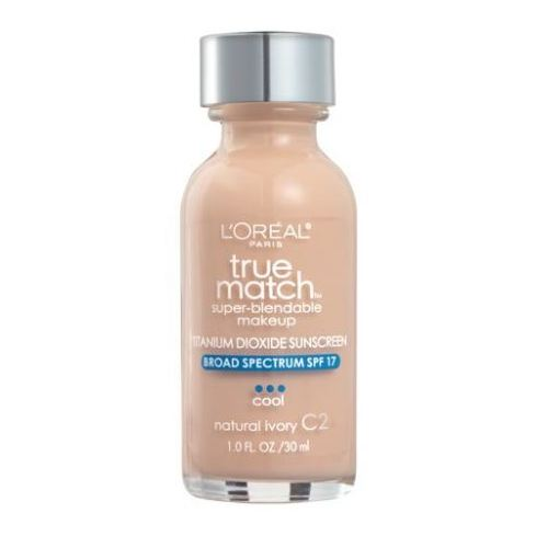 Loreal True Match Super Blendable Makeup Natural Ivory C2 30ml Foundation