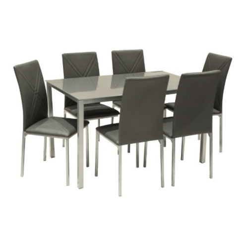 Home Style SH53139 Sally 6 Seater Dining Set with 6 Chairs