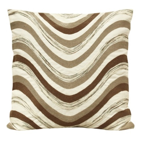Home Style SH53727 Hand Woven Cushion Cover Coral 45 x 45