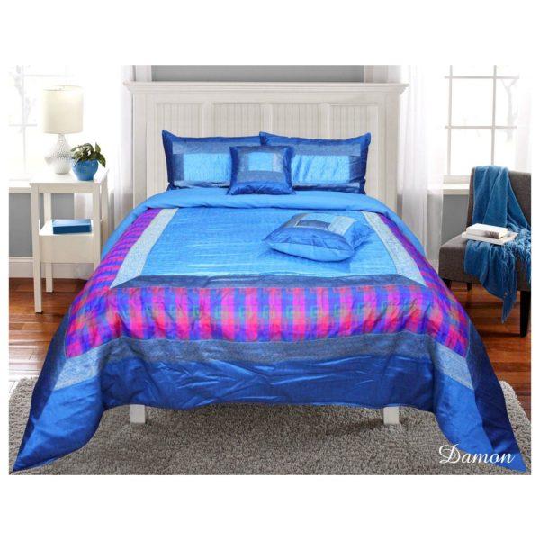 Dream Home 10PCKCS002 Damon 10 Pieces King Comforter Set