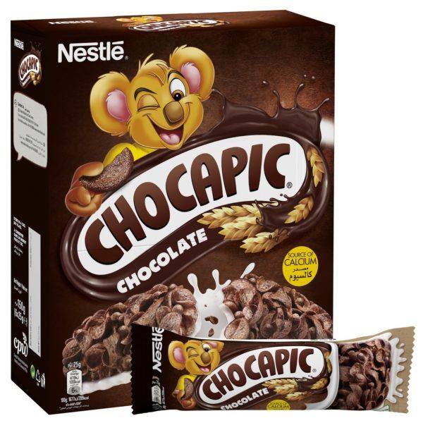 Buy Nestle Chocapic Chocolate Breakfast Cereal Bar 25g 6