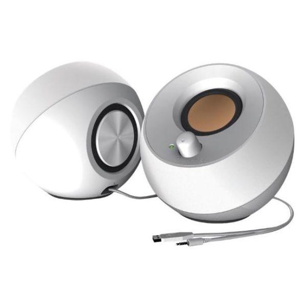Creative Pebble Modern 2.0 USB Desktop Speakers White