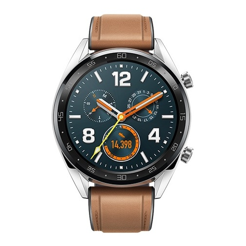 Buy Huawei FTNB19 Smart Watch GT – Saddle Brown – Price, Specifications & Features | Sharaf DG
