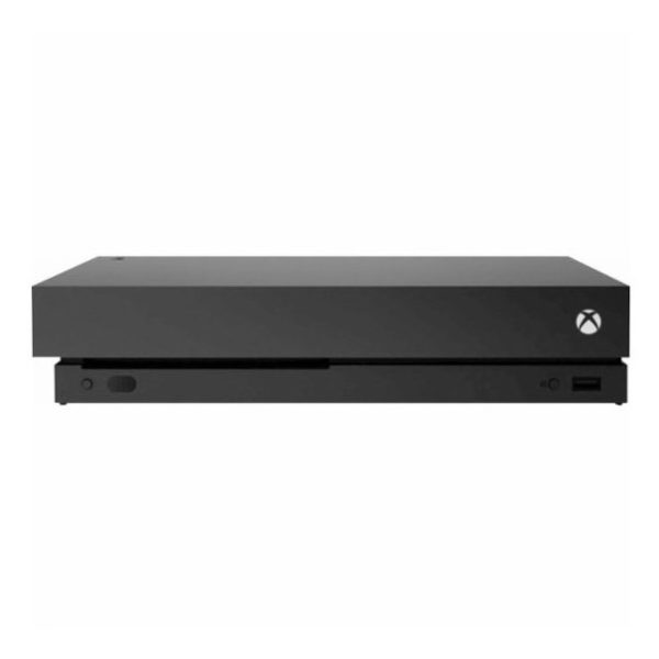 Microsoft Xbox One X Console 1TB Black With Wireless Controller + Forza Horizon 4 + Forza Motorsport 7 DLC Bundle