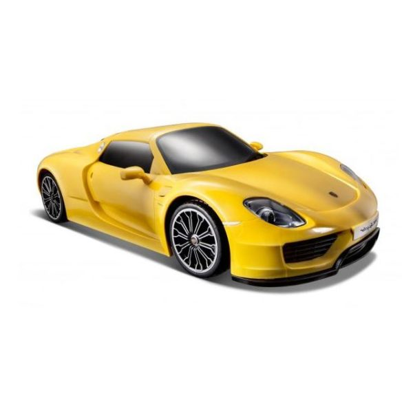 Maisto 82151YLW RC Porsche 918 Spyder Spacetoon EDT - Color May Vary