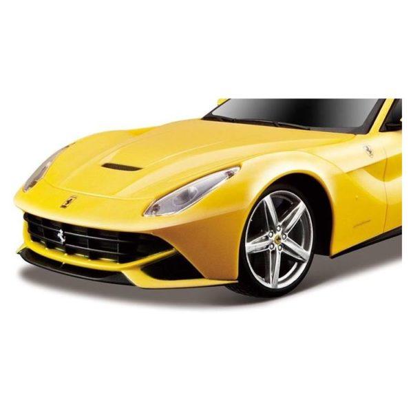Maisto Tech 81241YLW RC Ferrari F12 YLW 1:24 - Color May Vary