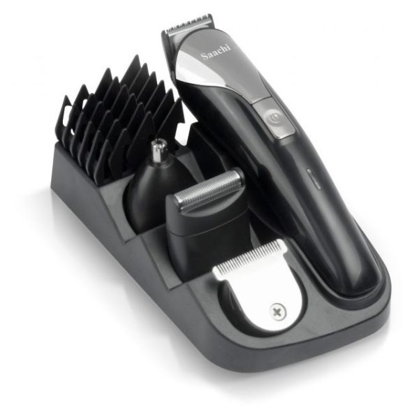 Saachi NLTM1350BK 9in1 Cordless Men's Hair Care Set Black