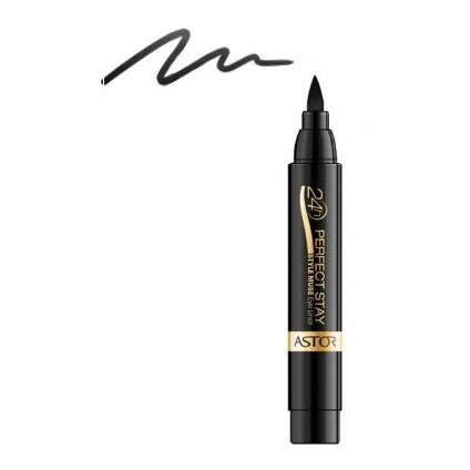 Astor 3614220192680 Perfect Stay 24H Style Muse Black Eye Liner