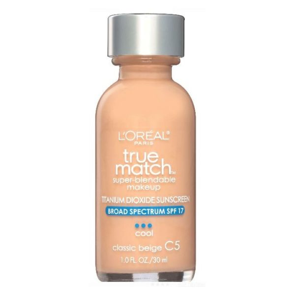 Loreal True Match Super Blendable Makeup Classic Beige C5 30ml Foundation