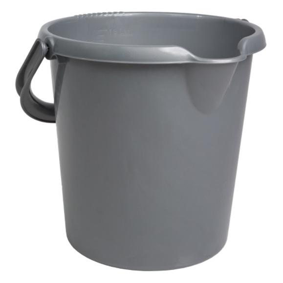 Wham 11335 Casa Bucket Silver 16L