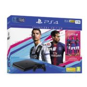 Sony PS4 Slim Gaming Console 1TB Black With FIFA19 Champions Edition Game Bundle
