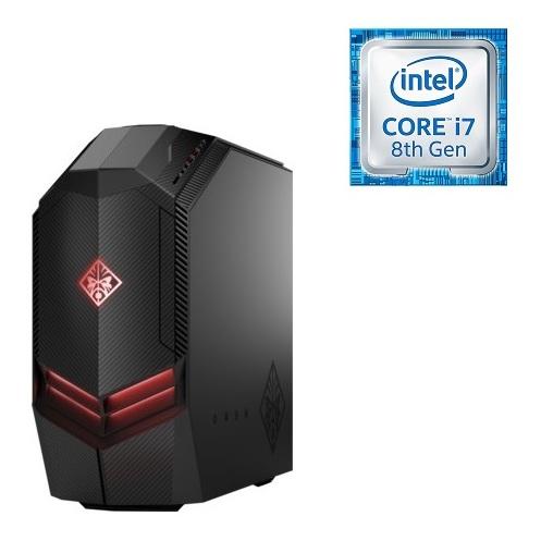 HP OMEN 880-108NE Gaming Desktop – Core i7 3 7GHz 32GB 3TB+256GB 8GB Win10  Black