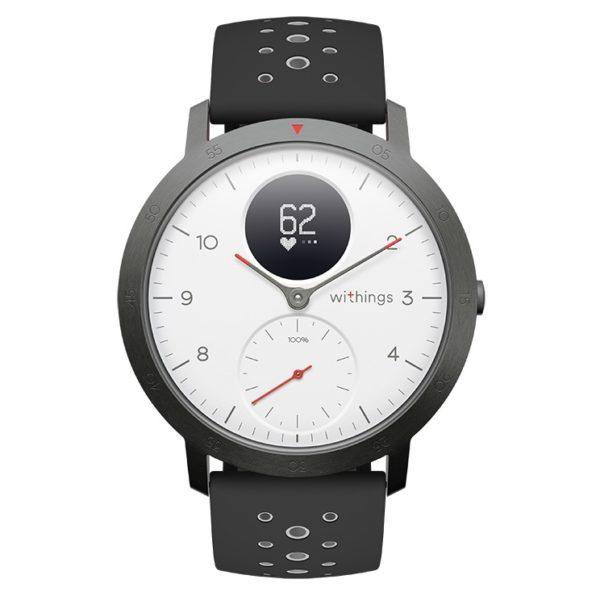 Nokia HWA03B40 Steel HR Sport Watch 40mm - White